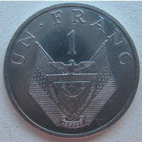 Руанда 1 франк 1985 г.