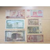 Набор банкнот мира. Распродажа