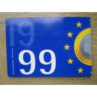 Нидерланды годовой сет монет 1999 в оригинальной упаковке - UNC