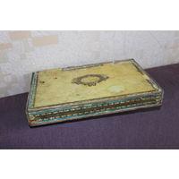 Коробка деревянная из под кубинских сигар