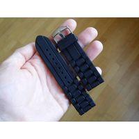 Ремешок для наручных часов силиконовый (24 мм) с металлической пряжкой Louis Vuitton