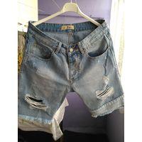 Мужские джинсовые шорты( Bruno Leoni)