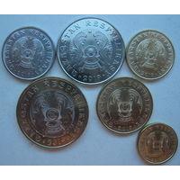 Казахстан 2019 г. Комплект монет. Новый тип. Надпись на латинице