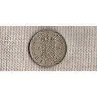 Великобритания 1 шиллинг 1957(Zo)