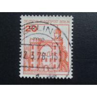 Берлин 1977 стандарт 20пф Михель-0,3 евро гаш