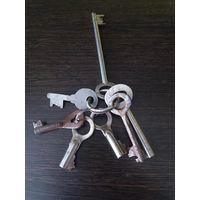 Винтажные ключи от замков из СССР