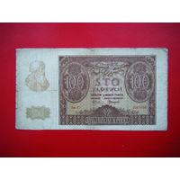 100 злотых. 1940г.