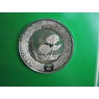 США. Franklin Mint 1979. 925пр. 11гр.  Серебряное блюдце Z .      S.6