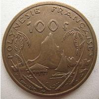 Французская Полинезия 100 франков 2002 г. (g)