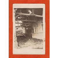 Разрушенный костёл (Feld-post, 7.09.1917)