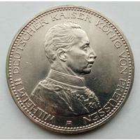 5 марок 1914г., Пруссия, СОСТОЯНИЕ!
