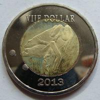 О.Саба 5 долларов 2013 г