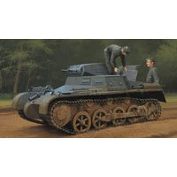 Танк German Panzer 1Ausf A Sd.Kfz.101 (Early/Late Version), сборная модель 1/35 Hobby Boss 80145
