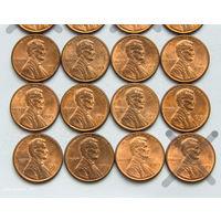 1 цент США 1989. Поштучно