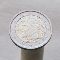 Италия 2 евро 2003