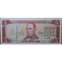 Либерия. 5 долларов 2003 года P26 UNC