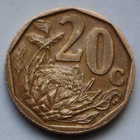 20 центов 2010 ЮАР