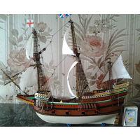 Модель HMS Галеона  Мэйфлауэр