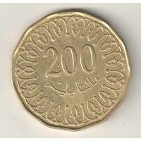 Тунис 200 миллим 2013