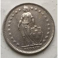 Швейцария, 2 франка 1970