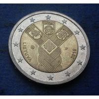 Литва 2 евро 2018 Прибалтийские государства