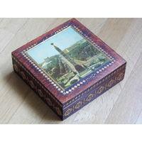 Шкатулка деревянная МИНСК (родом из Советского Союза)