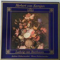 Ludwig van Beethoven. Herbert von Karajan. 3 LP. Mint
