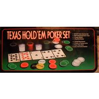 Покерный набор TEXAS POKER SET. Некомплект
