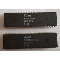 Ретро-процессор Zilog Z0840004PSC Z80