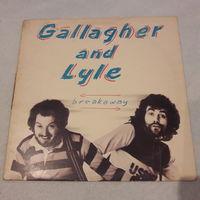 GALLAGHER & LYLE - 1976 - BREAKAWAY, (UK), LP