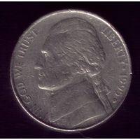 5 центов 1995 год D США