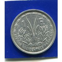 Французская Западная Африка 1 франк 1948