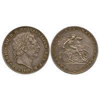 Великобритания. 1 крона 1819 г.