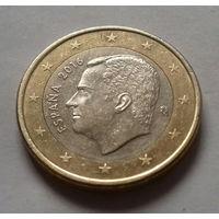 1 евро, Испания 2016 г.