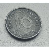 """Германия - 10 рейхспфеннигов, 1941 """"A"""" - Берлин  5-7-7"""