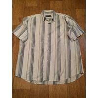 Рубашка классическая летняя мужская светлая