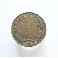Нидерланды 1 цент 1902 (215)