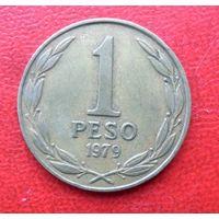 1 песо 1979 года Чили - из коллекции