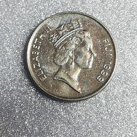 G Фиджи 5 центов 1999 г.