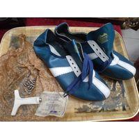 Шиповки, бутсы кожаные из СССР, 27(41) размер