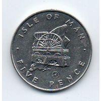 Остров Мэн. 5 пенни 1979 АА