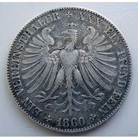 Франкфурт. Талер 1860 г.