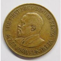Кения 5 центов 1975 г