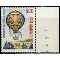 Сан Марино 1983 Mi 1284 ** воздушный шар