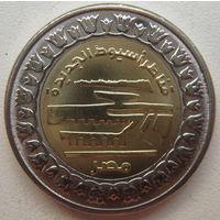 Египет 1 фунт 2019 г. Новые мосты в Асьют