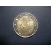2 евро Литва 2015 Спасибо (Ачу)