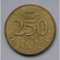 Ливан, 250 ливров 2006