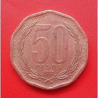 59-02 Чили, 50 песо 2007 г.