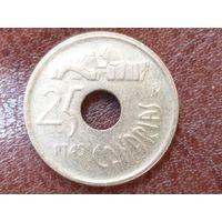 25 песет 1994 Испания ( Канарские острова )