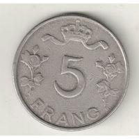 Люксембург 5 франк 1949
